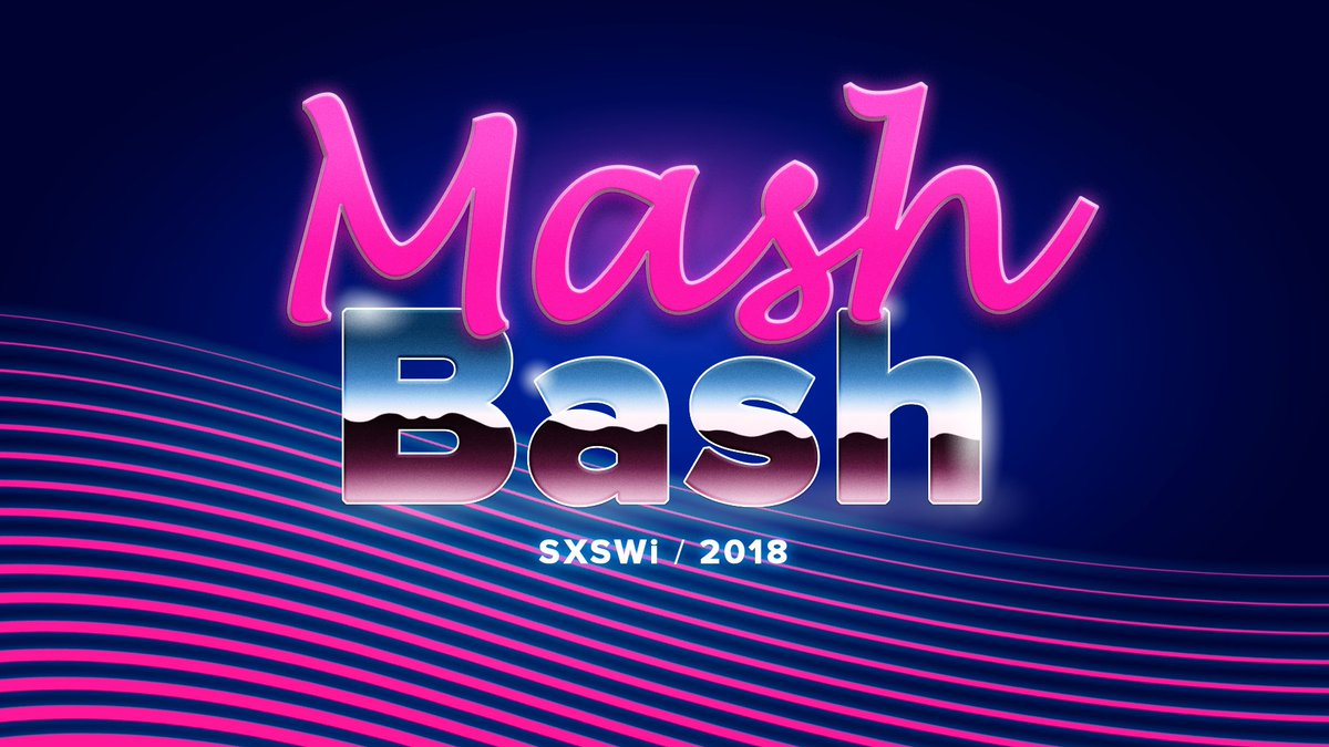 Yay! Just RSVPed to one of my favorite #SXSW events: #MashableHouse & #MashBash. Info: https://t.co/iqrMhcHTSO @TitosVodka @klaxoon @LQ @sunnyboyent https://t.co/rhpapE8XkJ