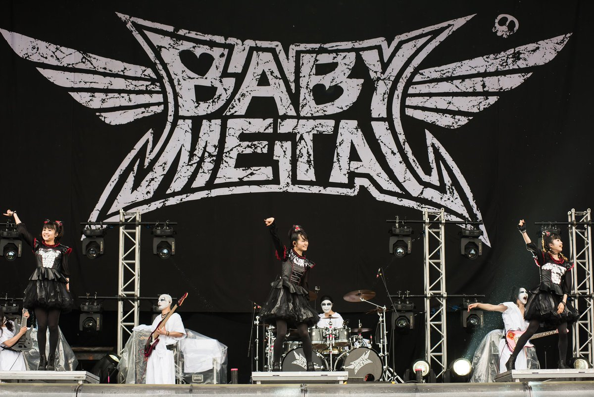 Not just one, but TEN reasons why @BABYMETAL_JAPAN are so great! 🔥👉 https;//t.co/LQi5UWL6eZ https...