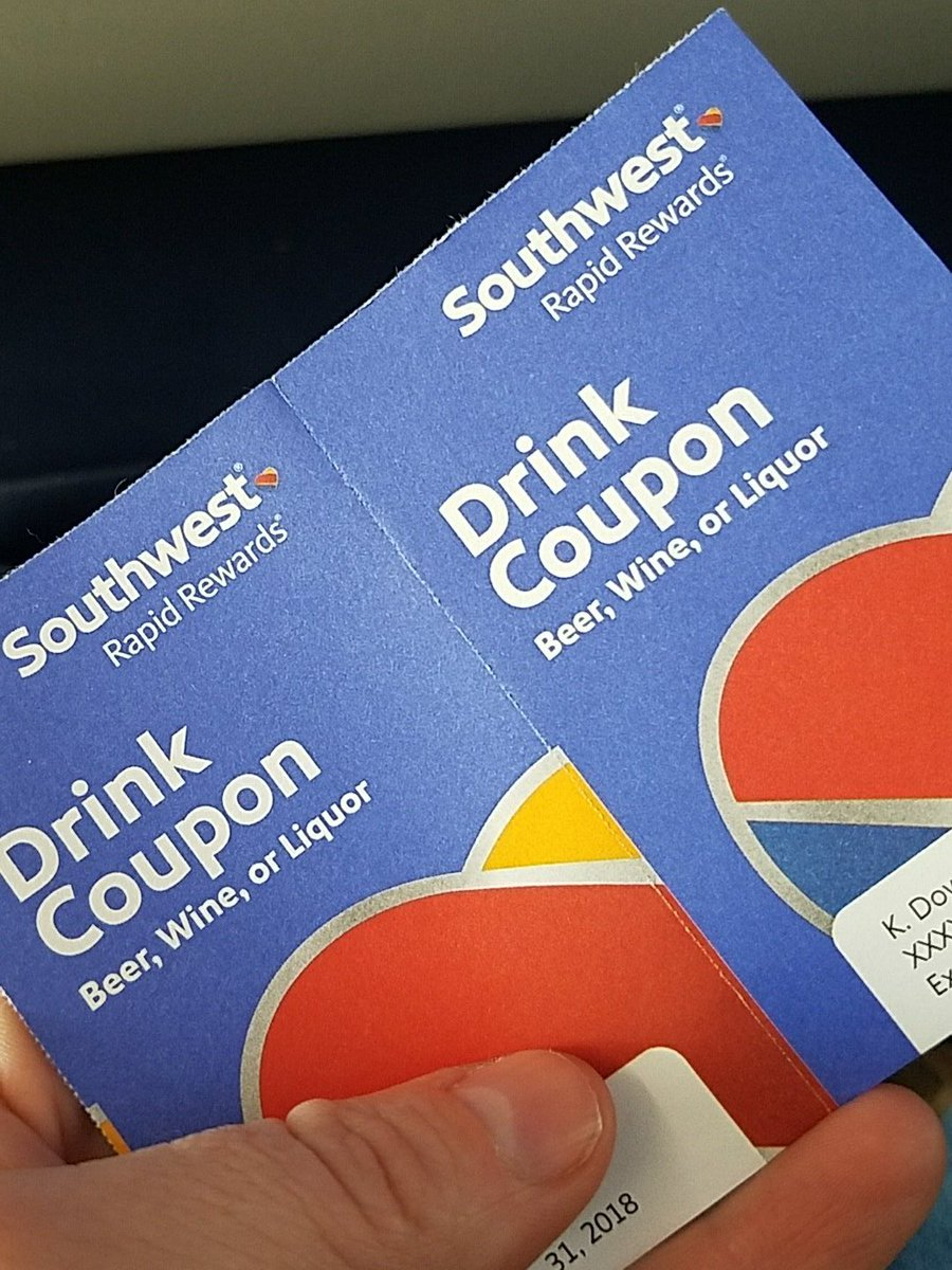Thanks @SouthwestAir it's been a hell of a week. I appreciate your kindness. #HappyCustomer
