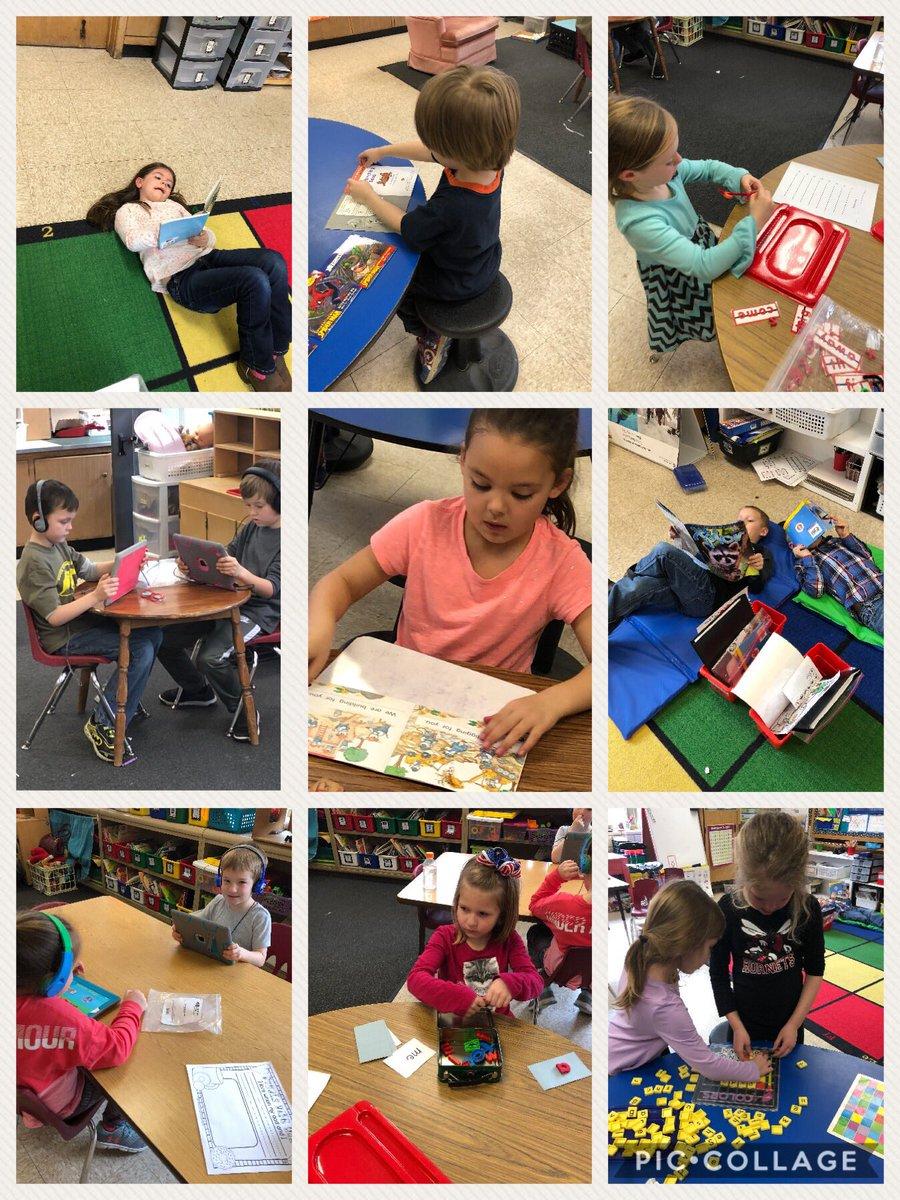 A peek at Daily 5 in #kindergarten #piccollage #hornetsr2 #cehornets https://t.co/J85uqbTE2S