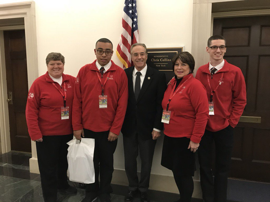 @RepChrisCollins Thank you for having us on Capitol Hill this week! We appreciate your support! #SOHillDay https://t.co/pslPYUHxtU