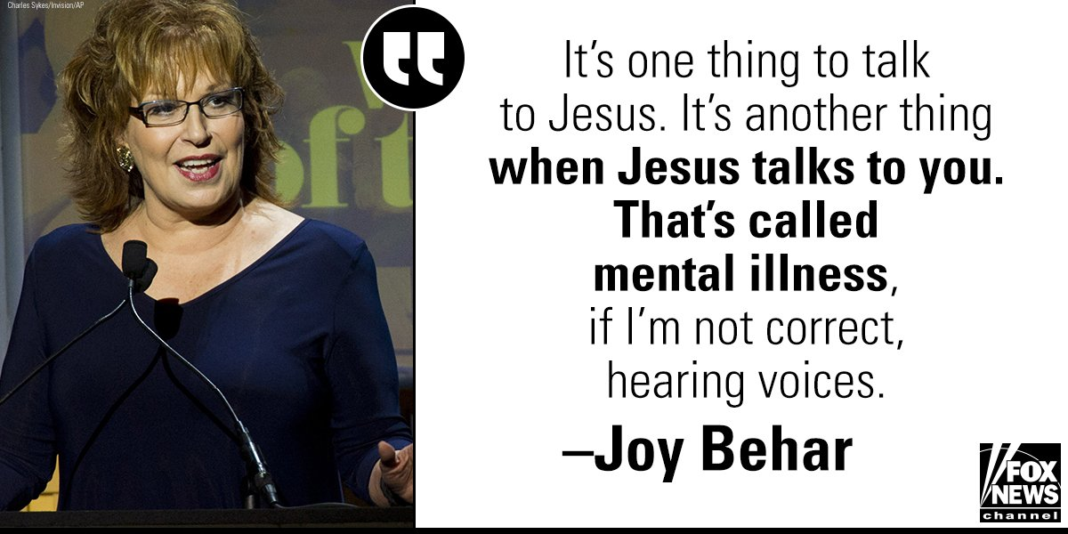 .@ABCNews slammed for @JoyVBehar's attack on @VP Mike Pence's Christian faith