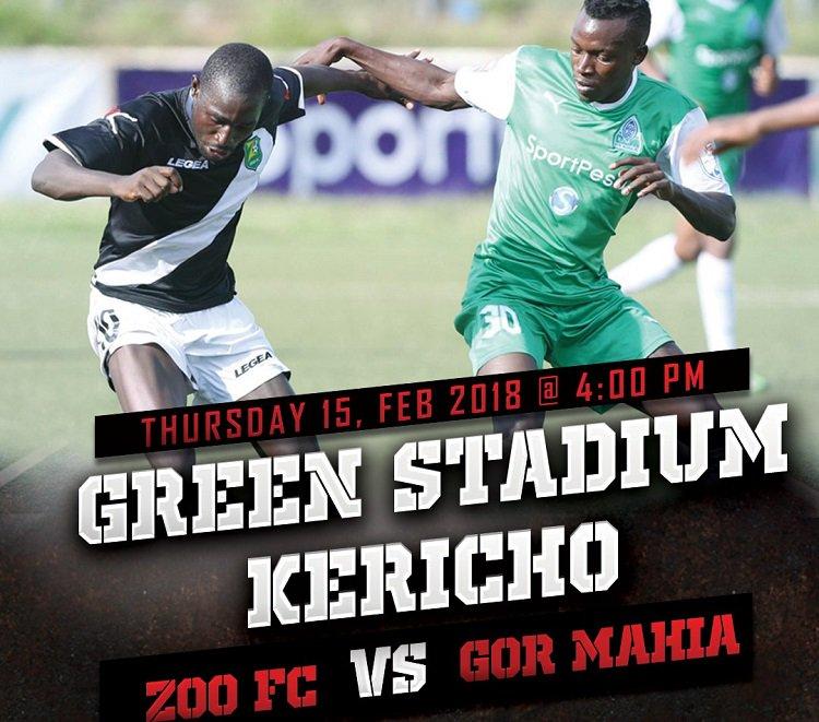 Zoo FC vs Gor Mahia Round 2 match set Thursday