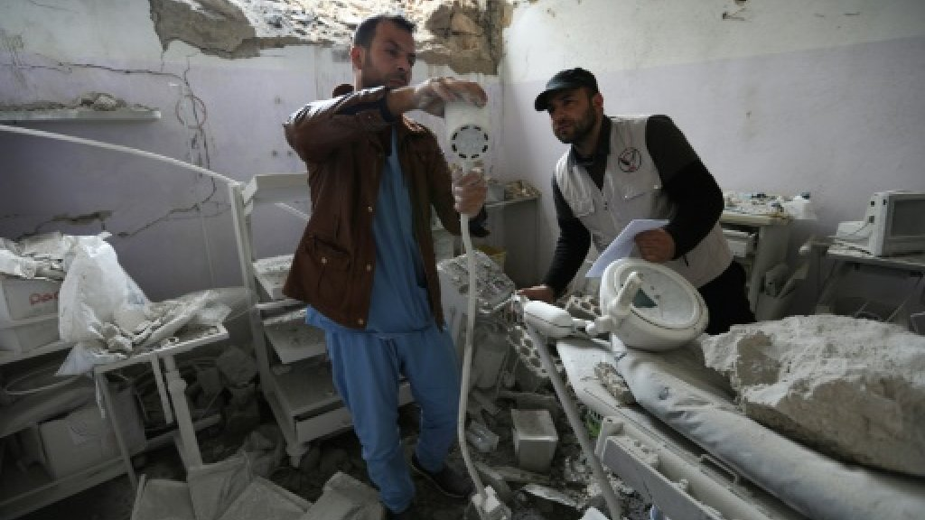Strikes hit yet another hospital in Syria's Idlib