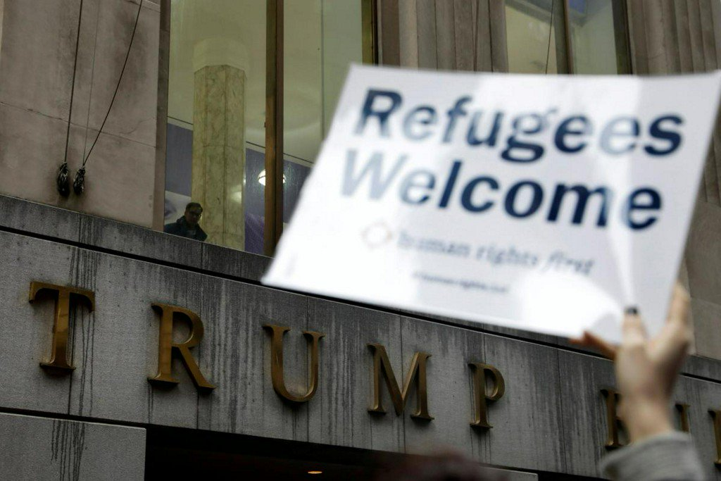 U.S. court says Trump travel ban unlawfully discriminates against Muslims