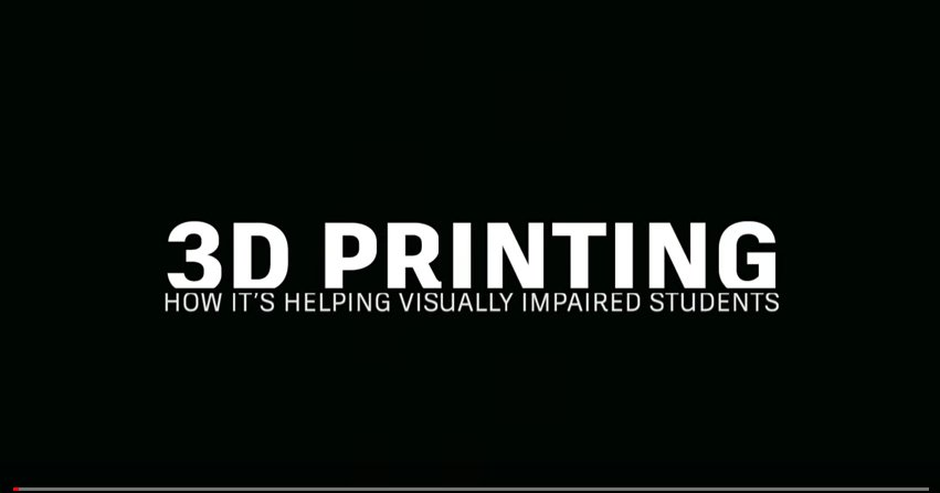 This Is How 3D Printing Is Helping Students with Visual Impairments https://t.co/bG9rDqrZQk https://t.co/YlHqiubwor