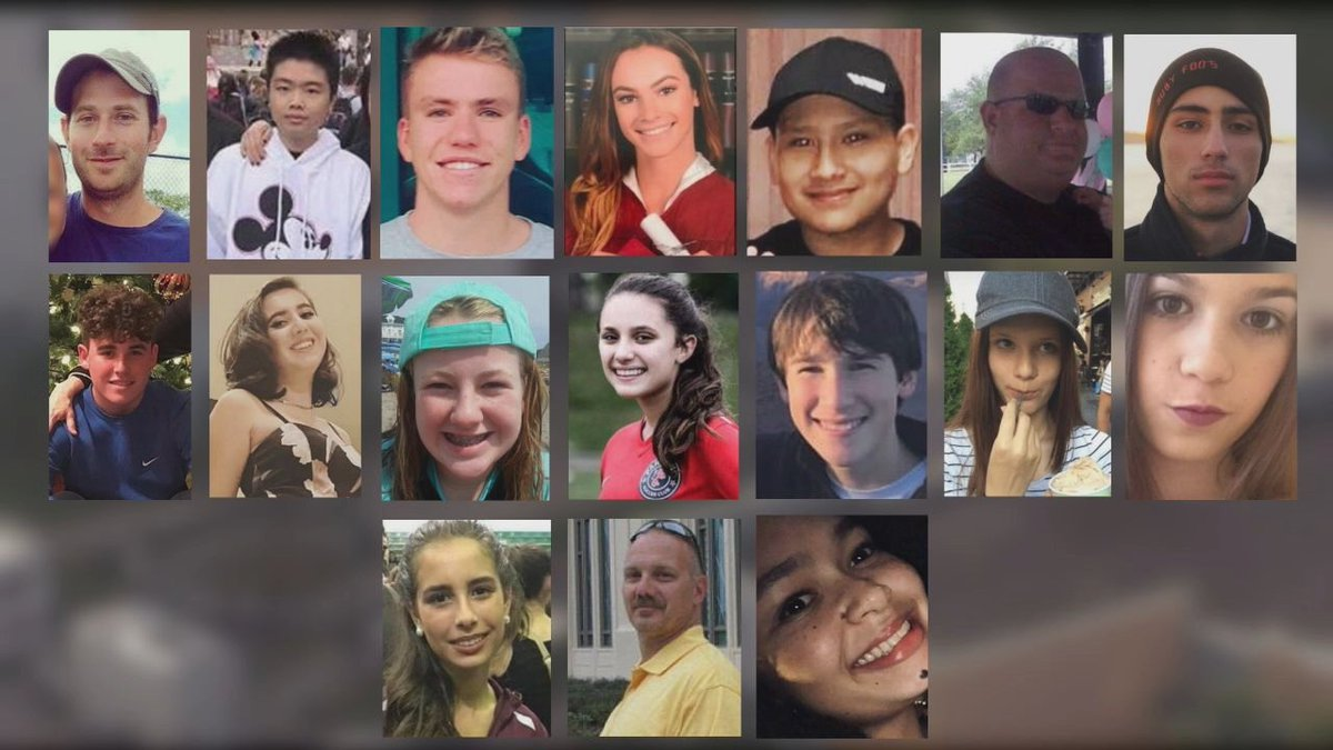 These Are The Victims Of The School Shooting In Florida images