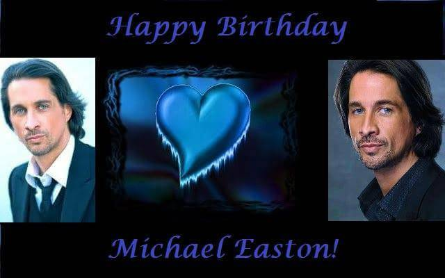 Happy Birthday to Michael Easton!