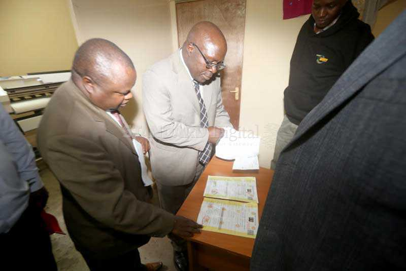 Seven arrested for printing and issuing fake trade licences in Nakuru
