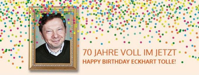 Newslichter:   Happy Birthday Eckhart Tolle  powered by