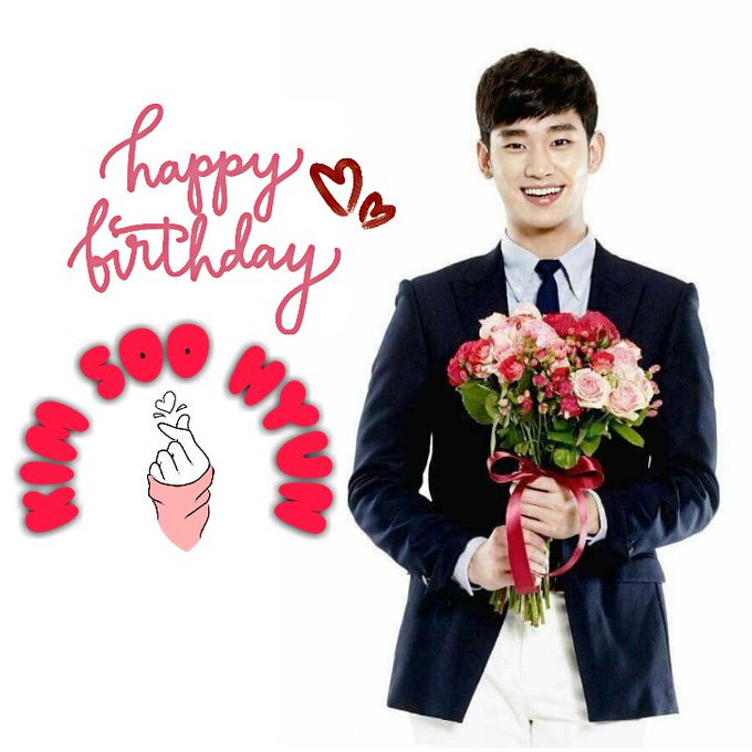 HAPPY BIRTHDAY KIM SOO HYUN I miss you Oppa Godbless you! Saranghaeyo   .