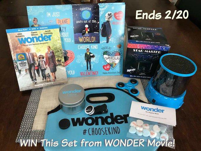 WONDER Movie Prize Set GA-1-US-Ends 2/20