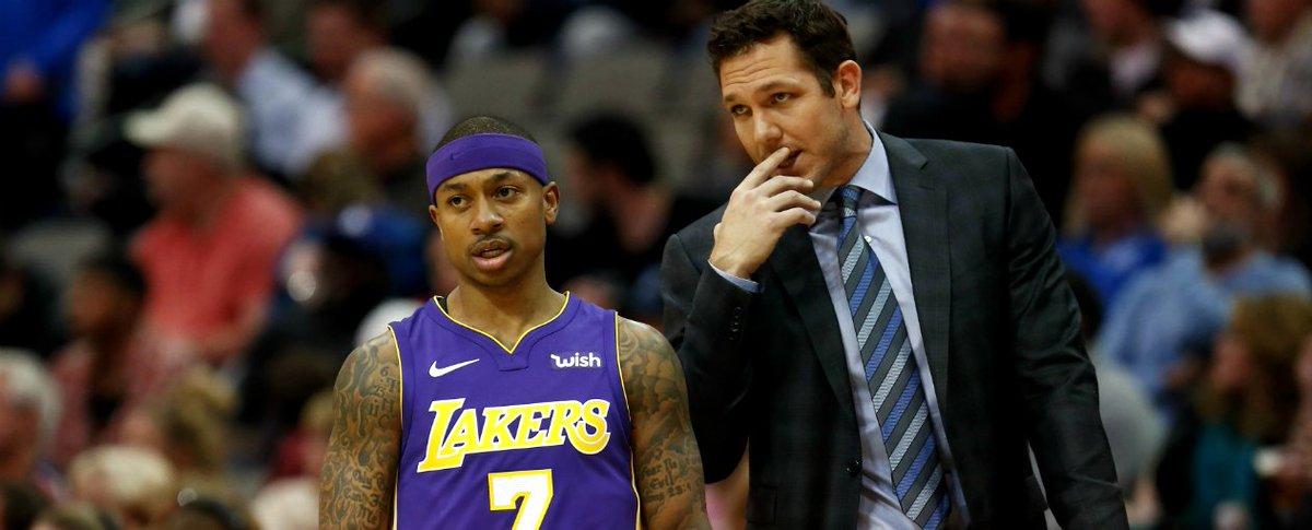 El tema 'Lavar Ball', el 'truque bomba' de @Lakers con @cavs y la reestructuración de un equipo 'legendario' urgido de pergaminos #Lakeshow #NBAAllStar - https://t.co/x5wFfmCjE0 https://t.co/QAJLrDnuUm