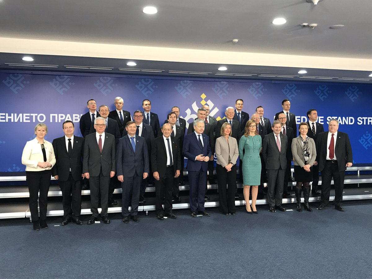 test Twitter Media - Foreign ministers from candidate countries join #EU foreign ministers at #gymnich in #Sofia today for a discussion on #security and #defence. https://t.co/K1R5o2M4Uf