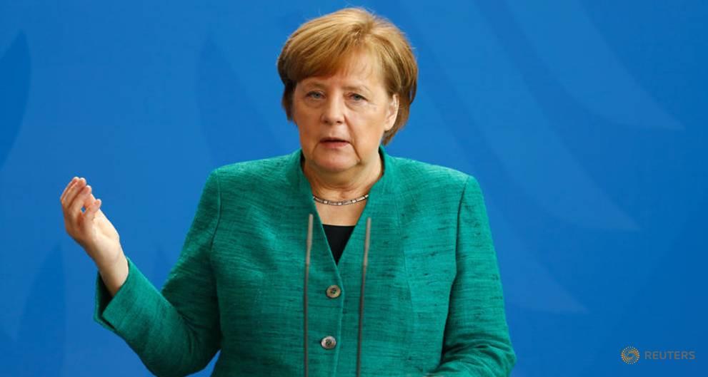 Merkel sees good chance of SPD members backing coalition deal