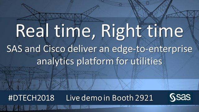 SAS and Cisco deliver edge-to-enterprise IoT analytics platform #DTECH2018 https://t.co/Pz26LBdeIz https://t.co/8WnvQ40YrC