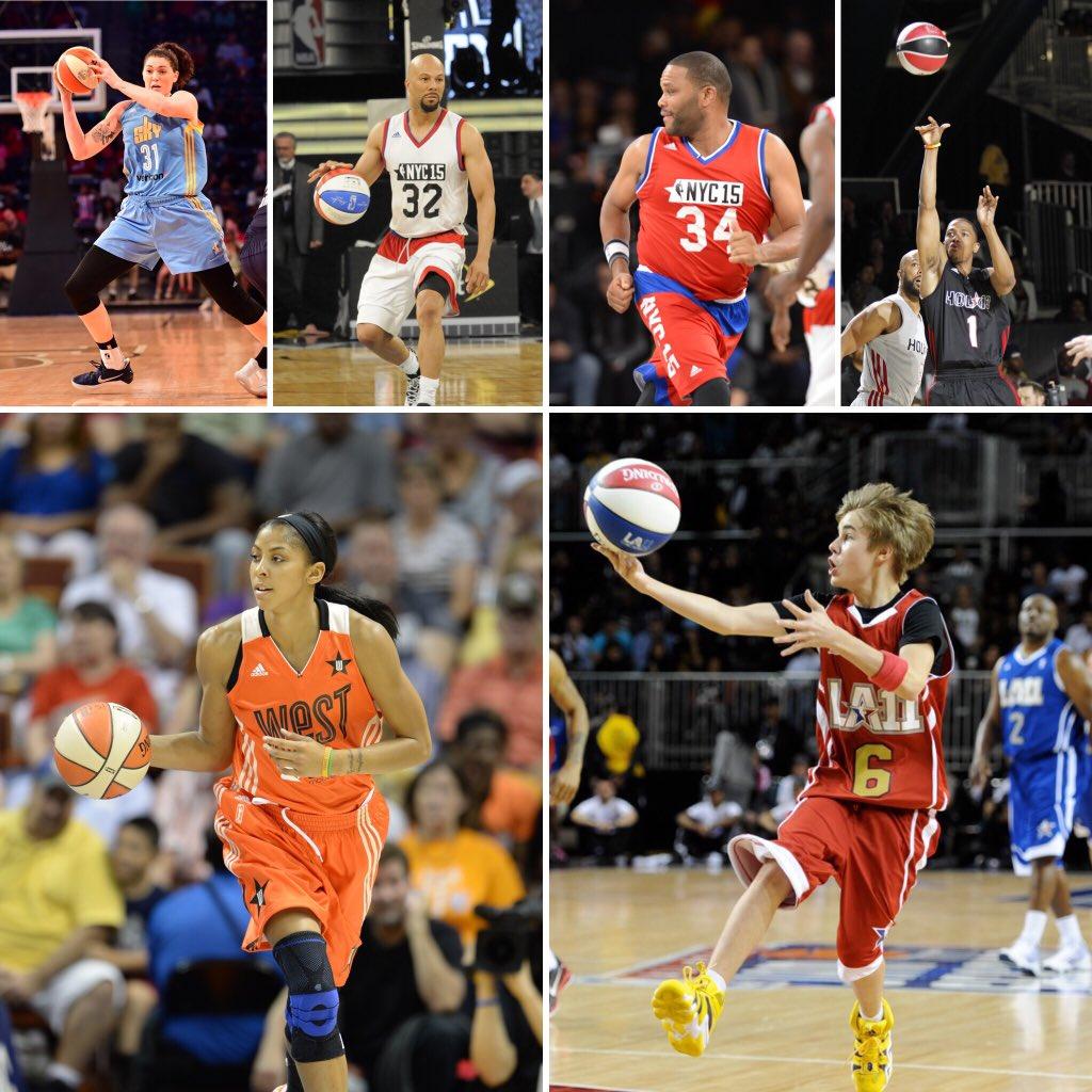 #NBAAllStarCelebrityGame #RufflesCelebGame #flashbackFriday #NBAAllStarWeekend @common @NickCannon https://t.co/36U2m7kW64