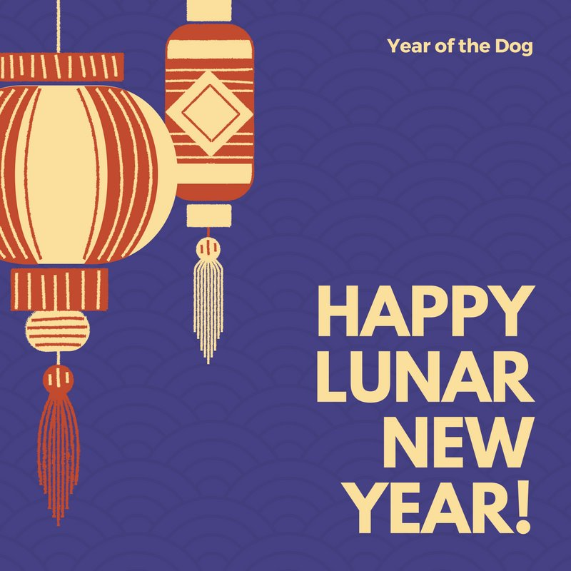 Happy New Year to all our friends ringing in the Year of the Dog! https://t.co/Uxd2jW7i34
