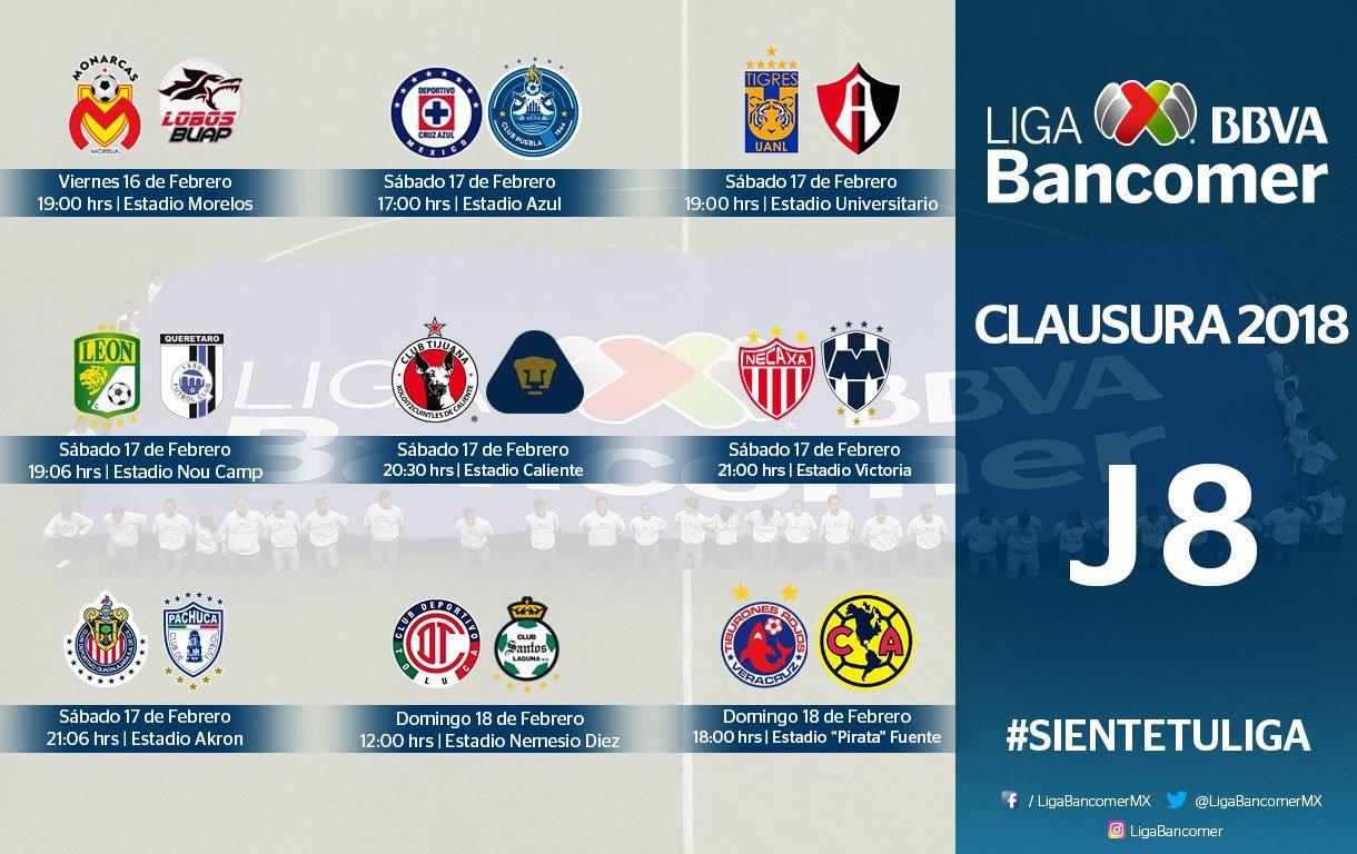 Viernesito de fútbol! ⚽️���� Jornada 8 en #LigaMX y Jornada 9 en #AscensoMX !! �� https://t.co/Kh5cTlGYmO