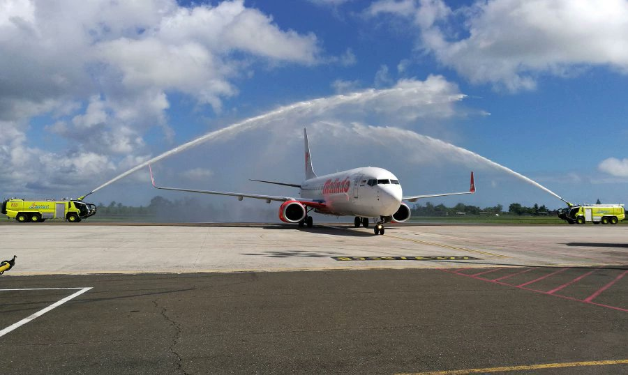 First special direct charter flight to Sandakan brings 160 tourists from Taiwan