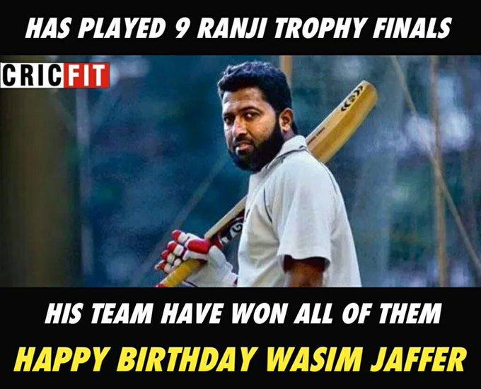 Happy Birthday Wasim Jaffer !