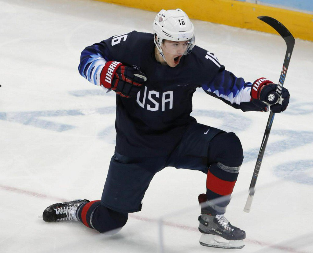 Ice hockey: Like father, like son - Donato nets for the U.S.