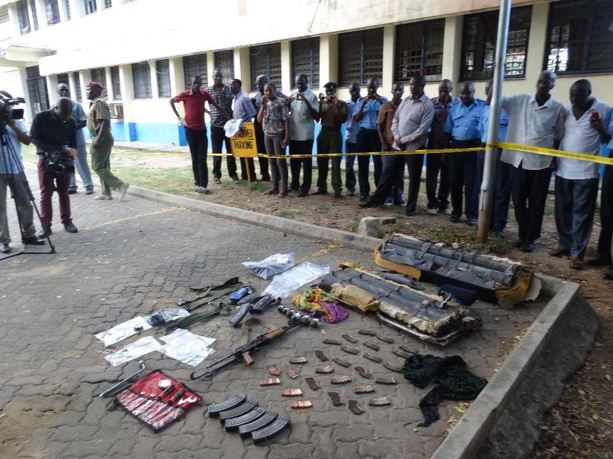 Police recover 36 grenades, 18 IEDs from suspected terrorists in Isiolo