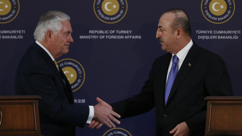 "Rex Tillerson says US-Turkey relations at ""bit of a crisis point"""