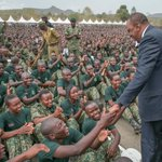 Absorb NYS recruits into armed forces, Uhuru orders security chiefs
