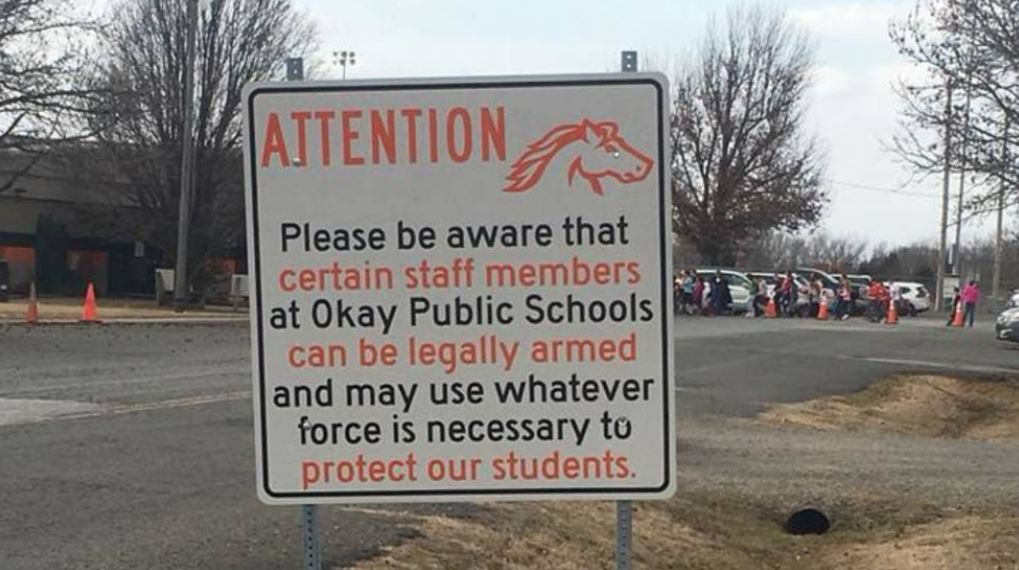 After Florida shooting, Oklahoma school district says armed staff keeps schools safe
