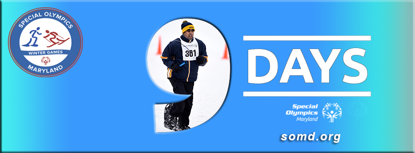 9 Days left until the 2018 SOMD Winter Games. Let the snow fall! https://t.co/GM5F2l0kPH