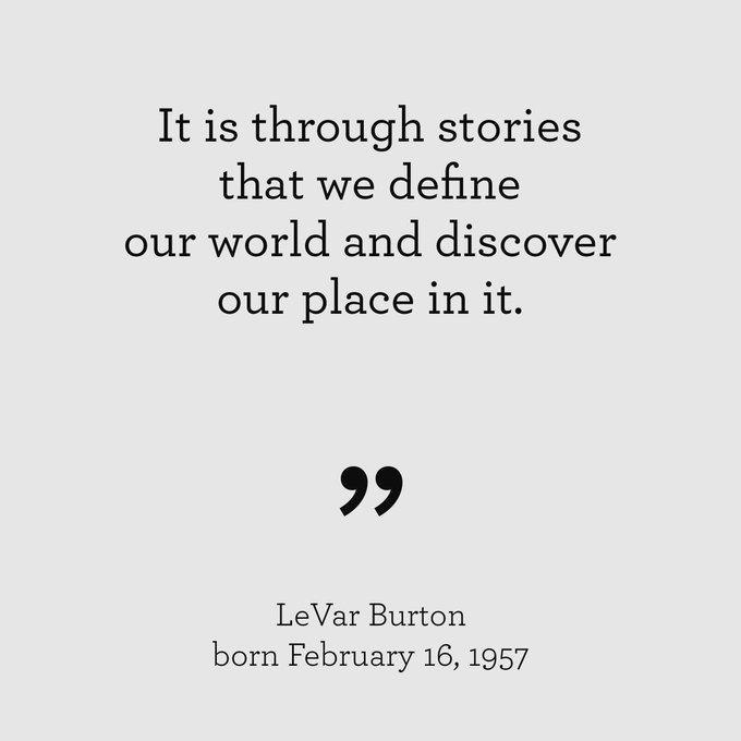 Happy Birthday, LeVar Burton!