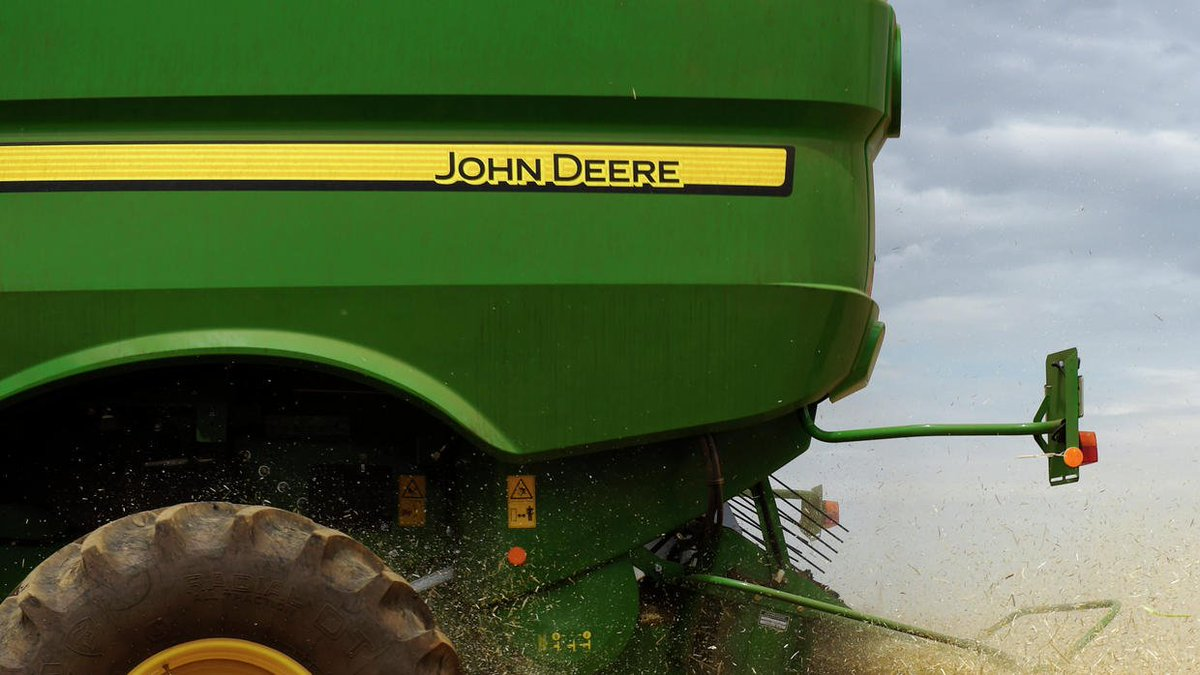 Deere & Co. raises sales forecast amid signs of farm recovery