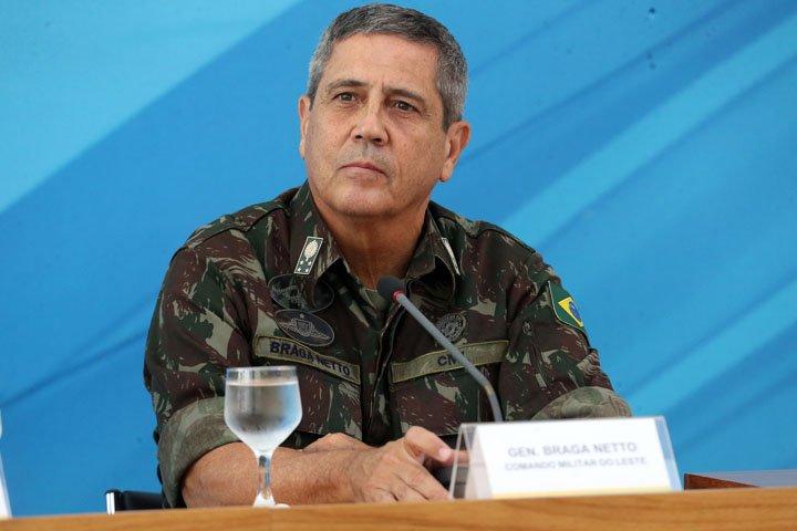 @BroadcastImagem: O general Walter Braga Netto, do CML, que assumirá o controle da segurança pública do Rio. André Dusek/Estadão
