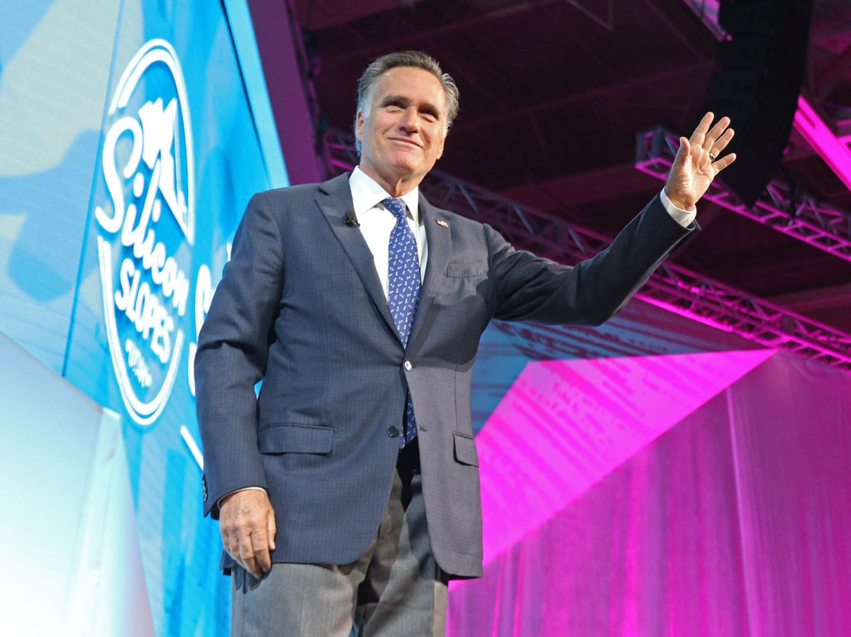 Mitt Romney is back in politics—and he's not going easy on Donald Trump