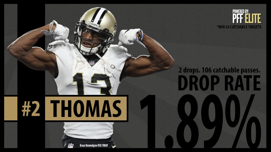 In just has second year in the michael thomas