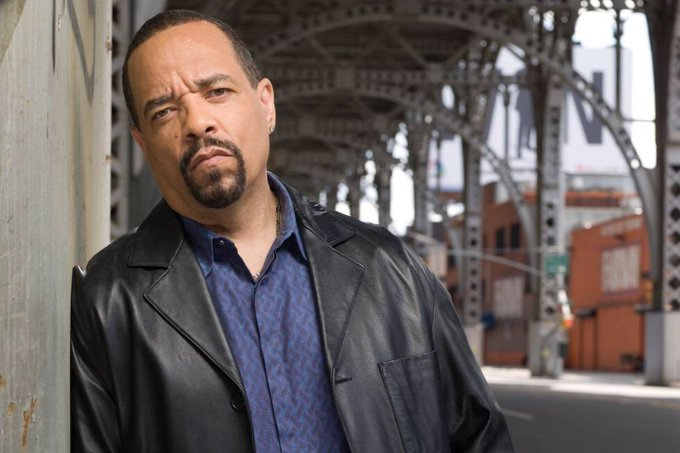 Ice T as Odafin Tutuola in law and order SVU, on her birthday today, happy birthday