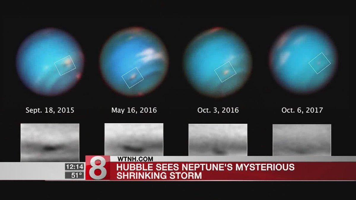 Mega-storm fizzles out on planet Neptune - Dauer: 26 Sekunden