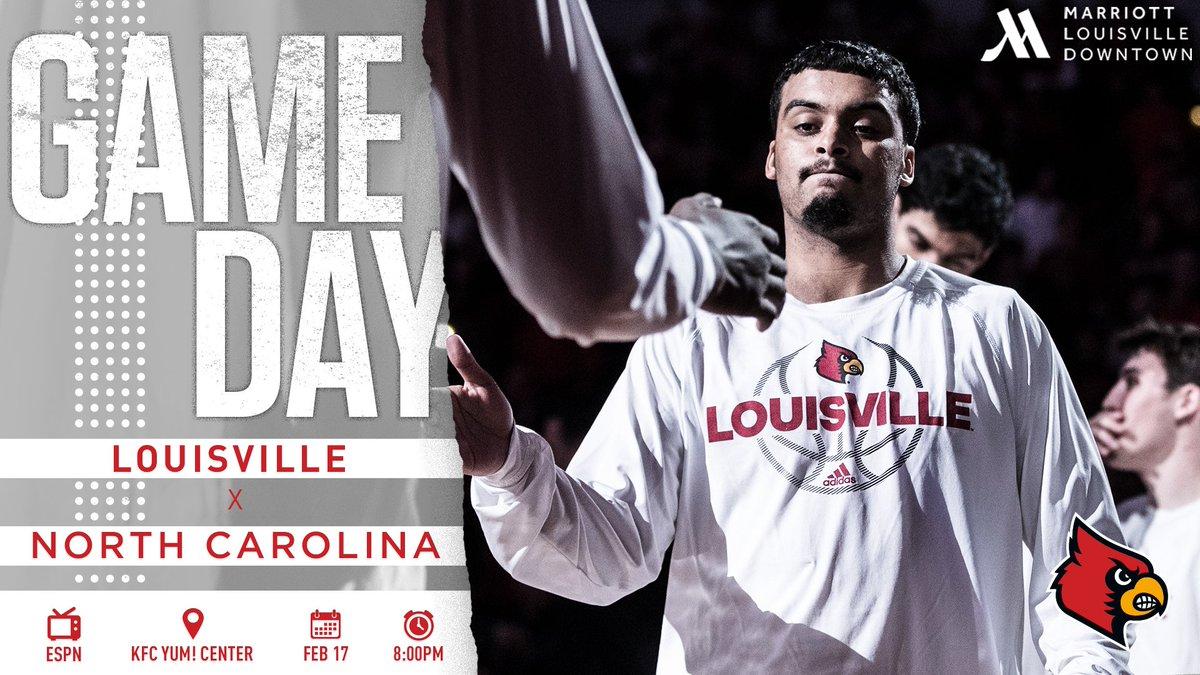 🚨 GAME DAY! 🚨  ◻️ White Out vs UNC 📍KFC Yum! Center 📻 840 WHAS 📺 ESPN https://t.co/EMMmXIZ16X