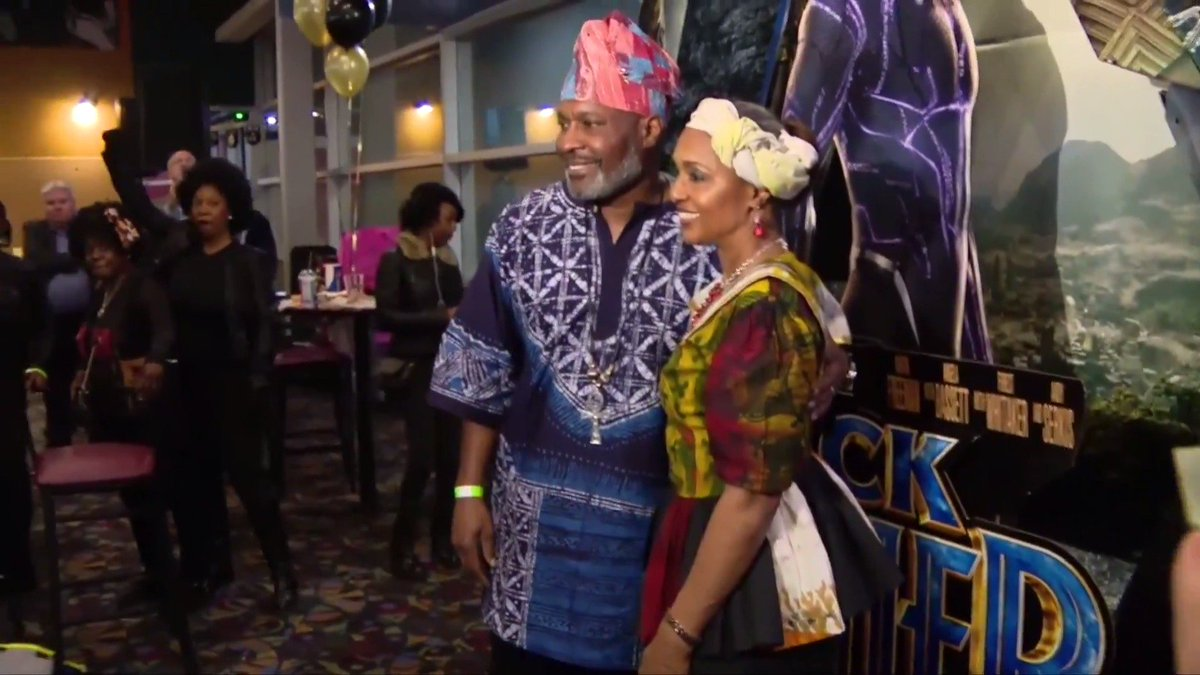 WATCH: 'This is history' - fans marvel at BlackPanther premiere. More from @ReutersTV: