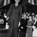 Happy 100th birthday, Robert Wadlow! Here are 100 facts about Alton's gentle giant