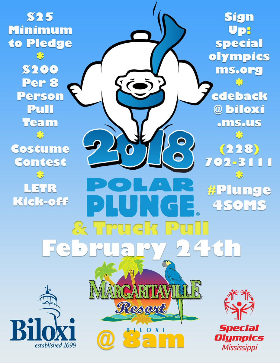 #FF @MVilleBLX we'll see you there NEXT SATURDAY to support your #SOMS athletes at the 2018 Polar Plunge ❄️ & Truck Pull 🚒!   Sign up with friends or plunge solo! 👉 https://t.co/kLyaqAe0YD https://t.co/LXKs6VFYdj