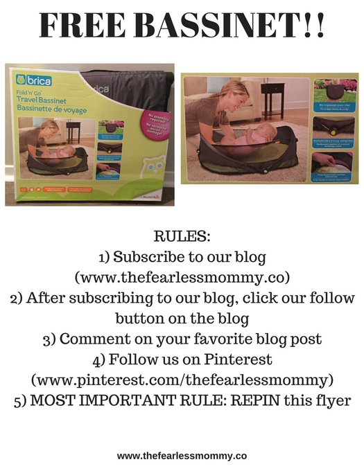 Don't forget about our Freebie!! freebie travelingbassinet momblogger moms