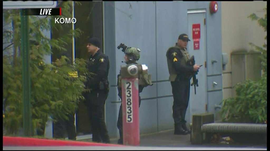 Seattle-area college on lockdown after reports of gunfire