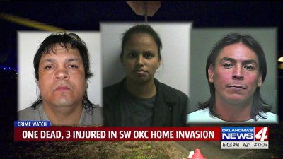 1 dead, 3 injured after violent home invasion in S.W. Oklahoma City