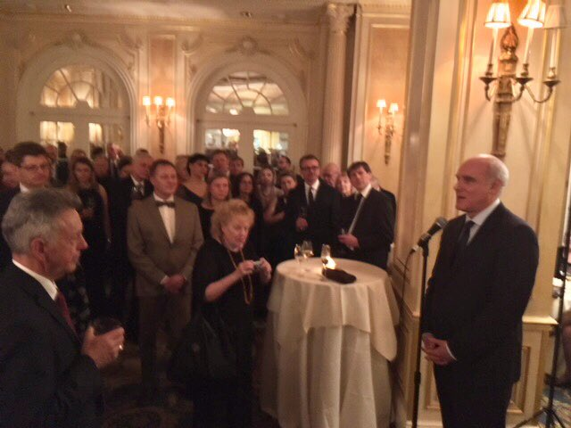 test Twitter Media - Honoured to speak at celebration of 100th anniversary of restoration of #Lithuania independence, together with @AudraPlepyte @LithuaniaUNNY https://t.co/rruqIxWrMs