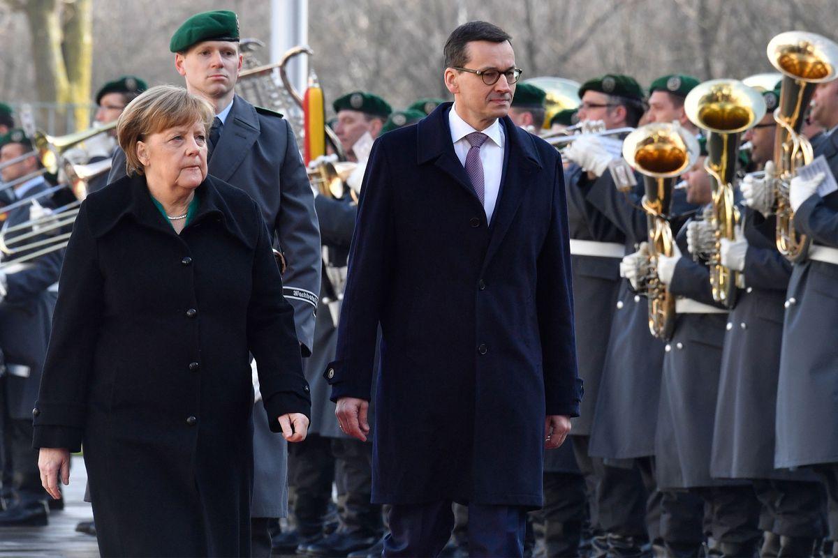Standing next to Angela Merkel in Berlin, Poland's leader brushes off European Union criticisms https://t.co/uzJkzFFsFH https://t.co/GKCADilTO5