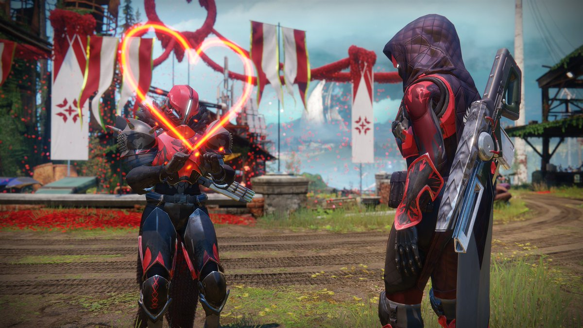 Crimson Days is all about the bond between two Guardians. Tag your preferred partner in a reply. https://t.co/13tIURSaIg