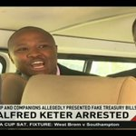 The dramatic arrest of Alfred Keter