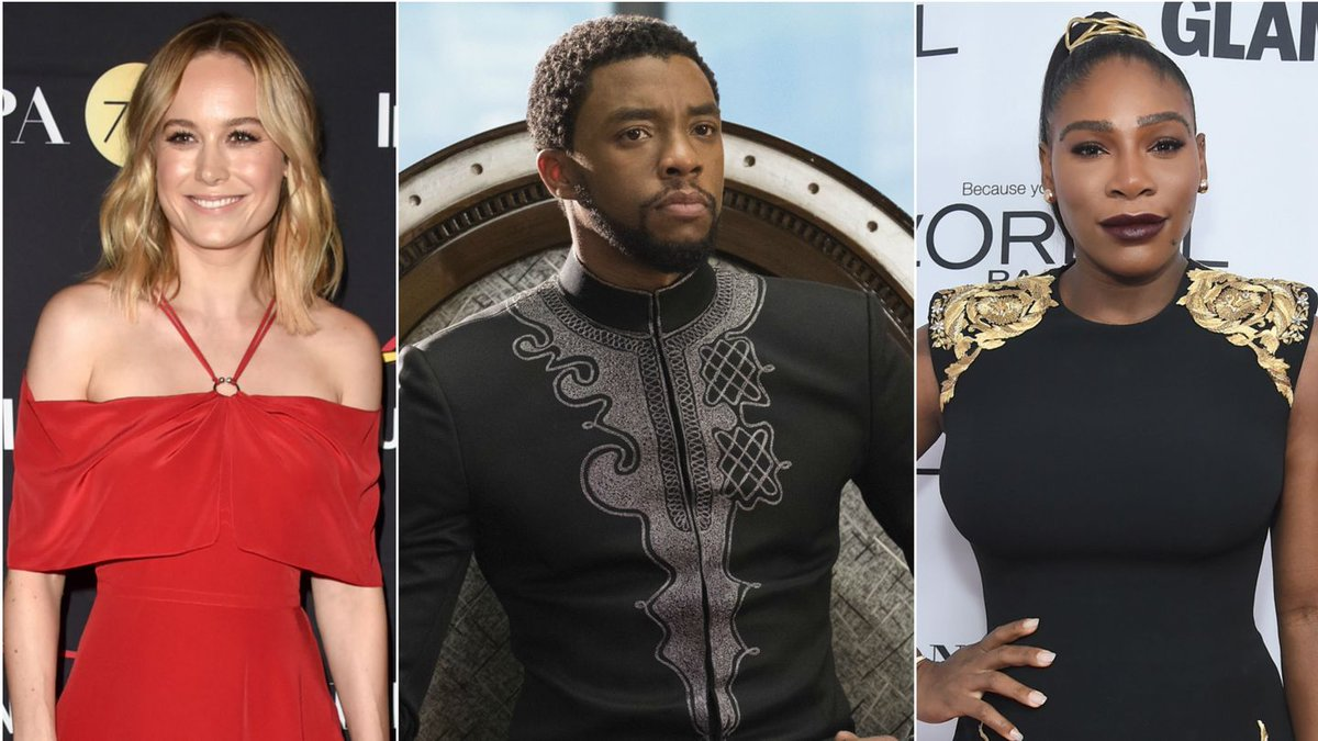 Brie Larson, Serena Williams, And More Celebs Who Are Helping Kids See Black Panther